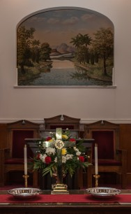Kendalls Baptist Church baptistry painting #1