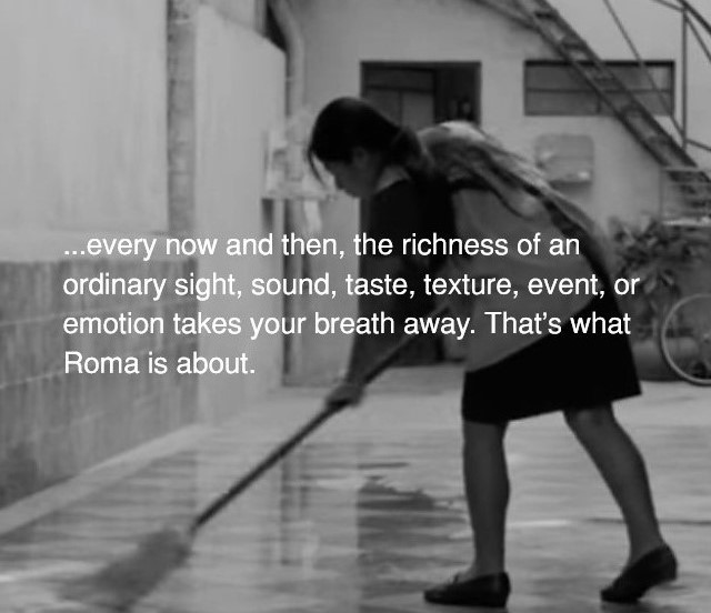 "Some Thoughts about Alfonso Cuarón's ""Roma"""